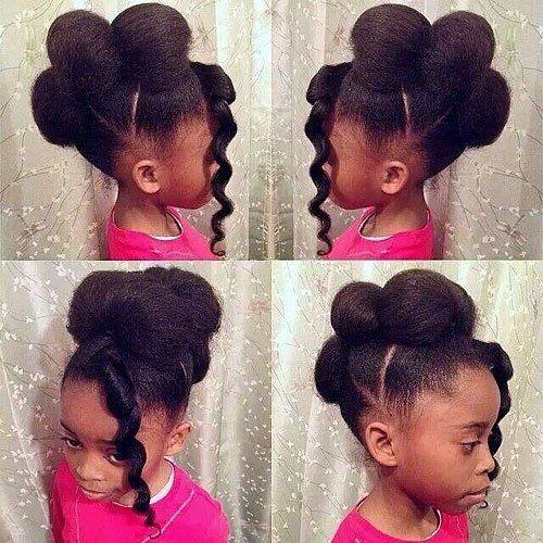 15 se frisuren fr schwarze mdchen natural hairstyles Easy Hairstyles For African American Girls Designs