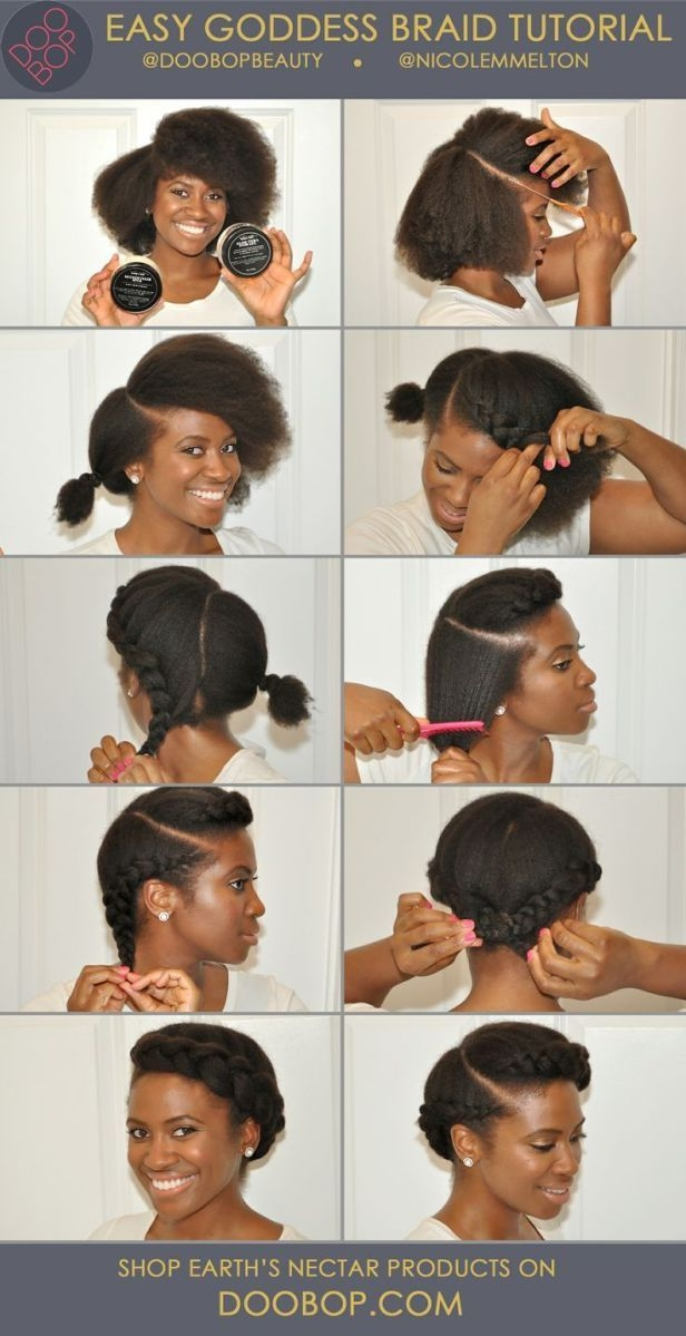 Awesome 10 more stunning natural hair pictorials protective Cute Protective Hairstyles For Short Natural Hair Choices