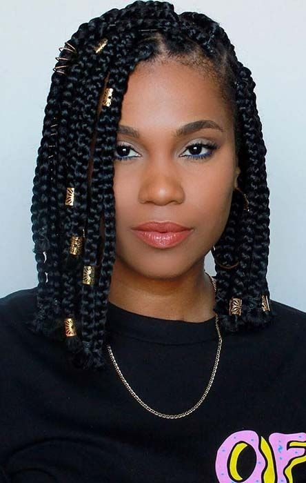 Best 23 short box braid hairstyles perfect for warm weather Latest Short Braiding Hairstyle Photos Choices