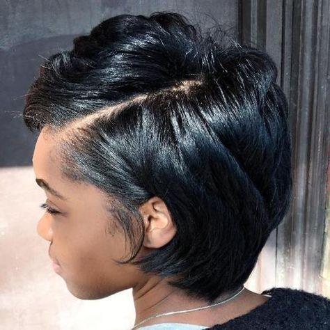 Best pin on color Short Hairstyles For Thick African American Hair