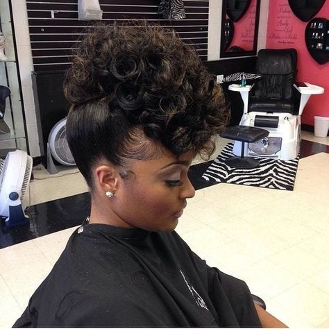 Cozy 43 black wedding hairstyles for black women in 2020 African American Prom Updo Hairstyles Designs