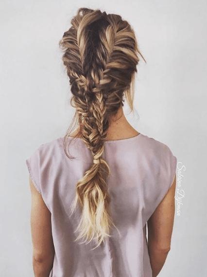Elegant 18 fabulous fishtail hairstyle ideas Fishbone Hair Braid Style Inspirations