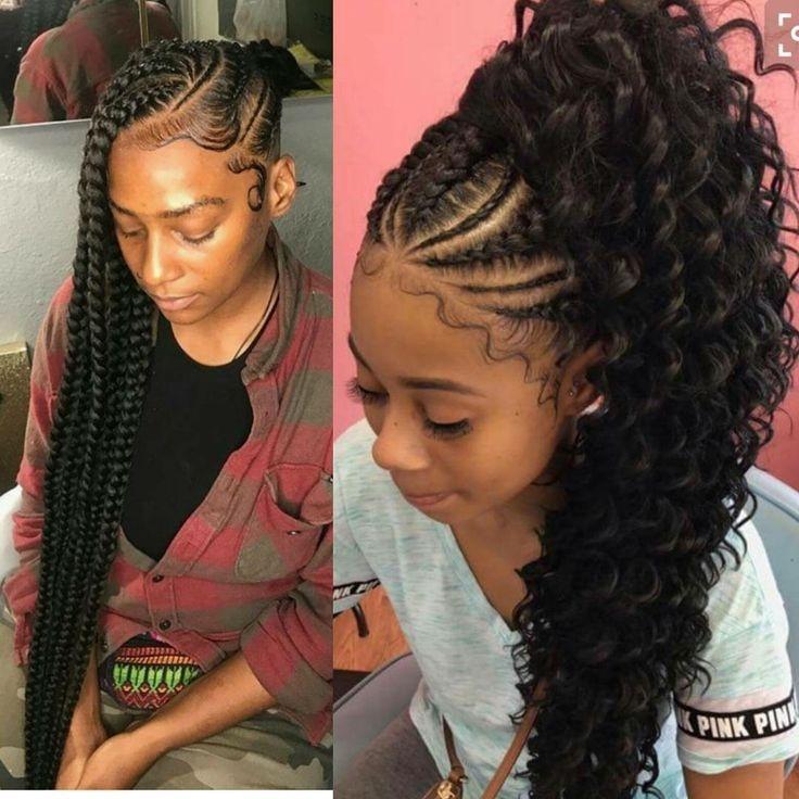 Elegant braiding hairstyle african american cool braid hairstyles Latest Hairstyles For African American Ideas