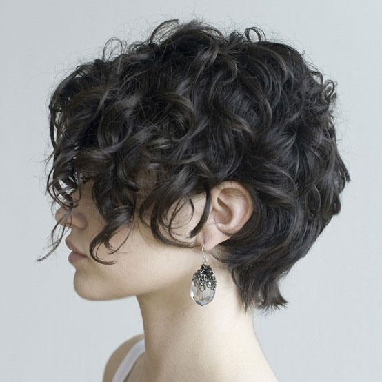 Elegant short curly hairstyles that will give your spirals new life Curled Short Hair Styles Inspirations