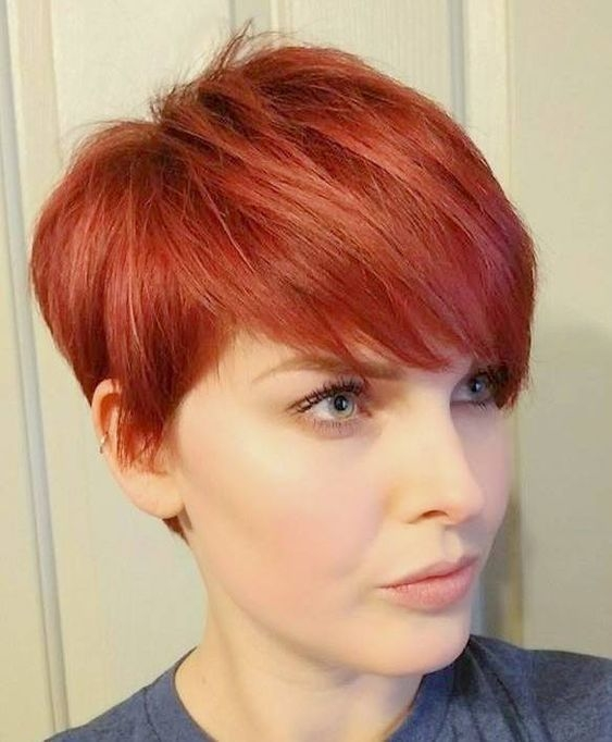 Trend pin on hair ideas Short Hairstyles For Red Hair Choices