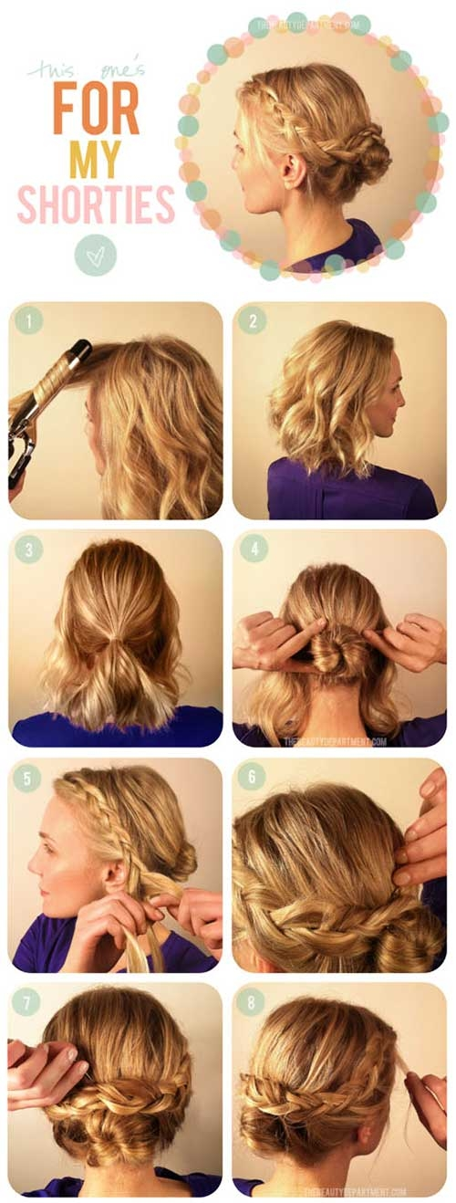 20 incredible diy short hairstyles a step step guide Cute Short Hairstyles At Home Inspirations