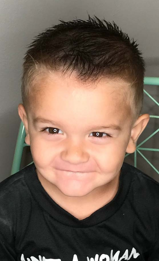 Awesome 60 cute toddler boy haircuts your kids will love Little Boys Short Haircuts Inspirations