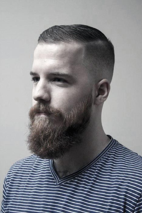 Awesome pin on hair Short Hair With Beard Style Inspirations