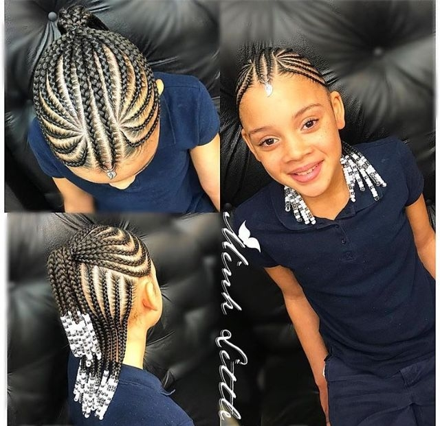 Awesome tresses enfants hair styles girls hairstyles braids lil Cute Braids For African American Hair Ideas
