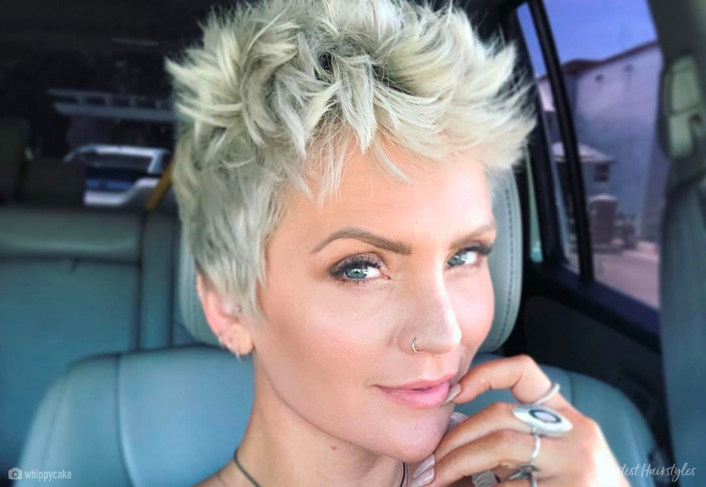 Best 13 of the boldest short spiky hair pictures and ideas for 2020 Short Spiky Haircuts For Women Ideas