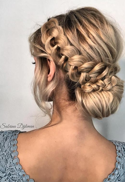 Best 57 amazing braided hairstyles for long hair for every Dutch Braid Updo Long Hair Inspirations