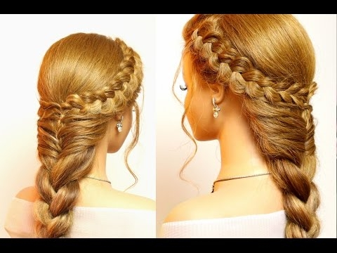Best easy hairstyles for long hair cute braids tutorial youtube Braided Hairstyle For Long Hair Tutorial Ideas