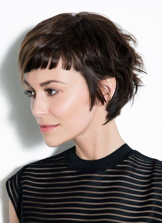 Best women hairstyles for short ba bangs 2020 haircut with Short Hairstyles With Bangs Ideas
