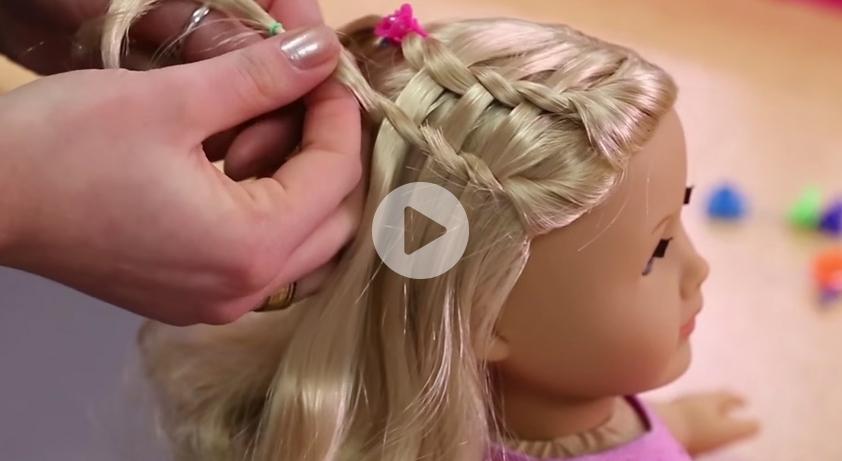 Elegant dos dolls fun american girl hairstyles for your girl and Styling American Girl Doll Hair Ideas