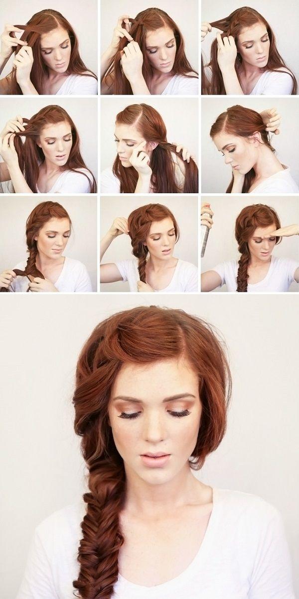 Elegant summer side braid hair styles side braid hairstyles diy Braid Hairstyles For Long Hair Tutorial Ideas