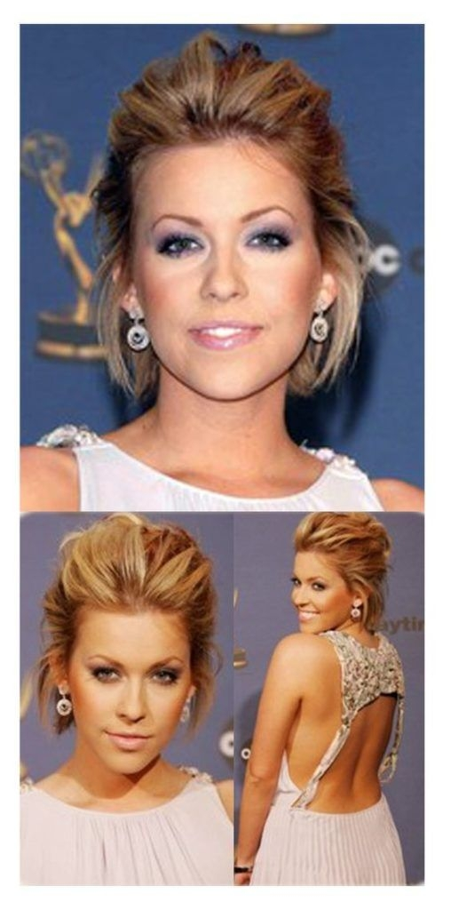 Fresh party hairstyle for short chin length hair chin length Party Ideas For Short Hair Choices