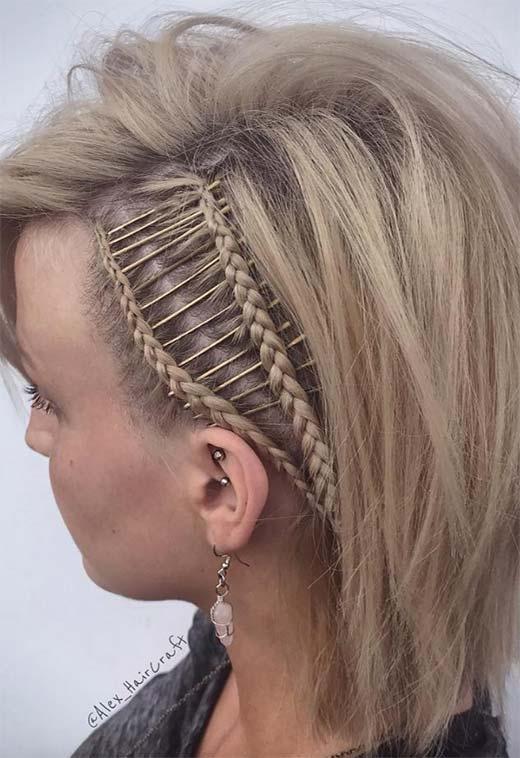 Stylish 73 stunning braids for short hair that you will love Braiding Styles For Short Hair Inspirations