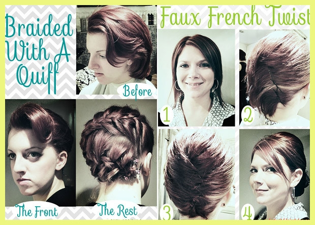 Stylish hairstyle tutorials for short hair 230040 10 fabulous hair Short Hair Styling Tutorials Choices