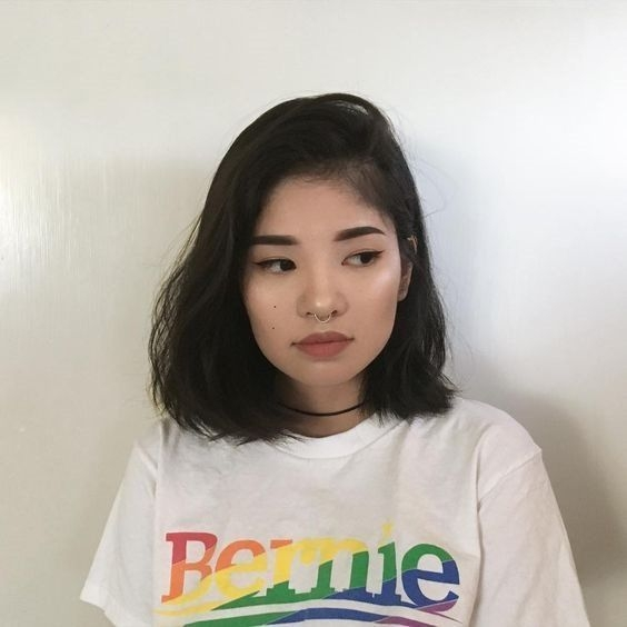 Stylish new short hairstyles for round faces asian fashionre Short Hair For Round Face Asian Inspirations