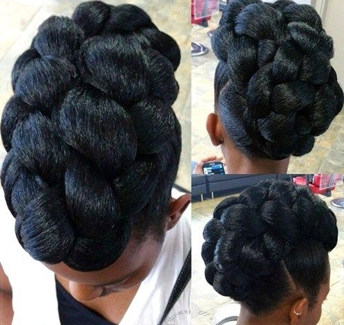 Trend 40 cute updos for natural hair the right hairstyles for Black Braided Updo Hairstyles For Weddings Ideas