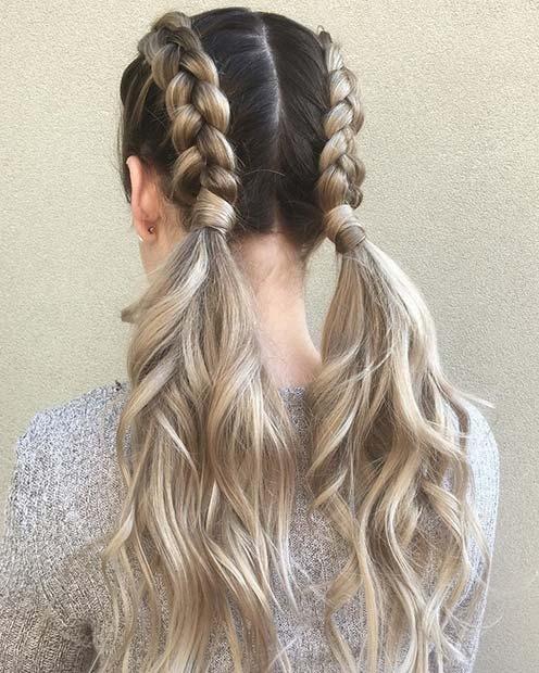 Trend 41 cute braided hairstyles for summer 2019 stayglam Cute Braiding Hair Styles Choices