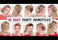 10 easy wedding party hairstyles for short medium and long Party Ideas For Short Hair Choices