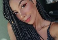 105 best braided hairstyles for black women to try in 2020 African American Box Braid Hairstyles