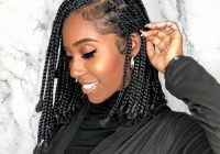 20 trending box braids bob hairstyles for 2020 all things hair Latest Short Braiding Hairstyle Photos Inspirations