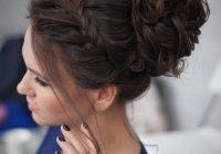 25 chic braided updos for medium length hair hairstyles weekly Braided Updo Hairstyles For Medium Hair Ideas