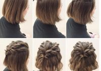 25 cute short hairstyle with braids braided short haircuts Cute Short Hair Style Choices