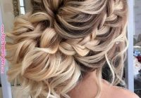 27 braided prom hairstyles for long hair that will make you Wedding Prom Hairstyle For Long Hair. Braided Updo Inspirations