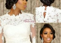30 beautiful wedding hairstyles for african american brides African American Bride Hairstyles Designs