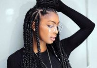 35 best black braided hairstyles for 2020 Black Braids Hair Styles Inspirations