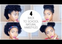 4 easy back to school natural hairstyles for short hair Back To School Hairstyles Short Hair Choices