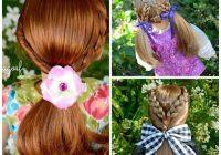 40 cute beautiful american girl doll hairstyles 2020 guide Fun And Easy Hairstyles For American Girl Dolls Ideas