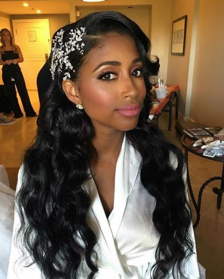 Permalink to 9 Modern African American Bride Hairstyles Inspirations