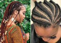 43 trendy ways to rock african braids stayglam Stylish Cornrows For African Hair