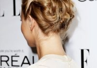44 incredibly chic updo ideas for short hair Up Hair Styles For Short Hair Inspirations