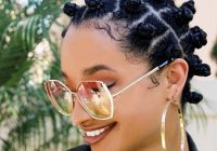 Awesome 12 chic natural hairstyles for short hair to copy right now Natural Hairstyles For Short Ethnic Hair Inspirations