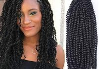 Awesome 2020 new style long spring twist 16 inch fluffy twist crochet braids synthetic braiding hair extensions low temperature fiber 16 1b from Braided Hair Extensions Styles Choices