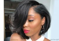 Awesome 21 sexiest bob haircuts for black women in 2020 Wedge Haircut For African American Hair