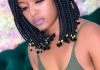 Awesome 23 short box braid hairstyles perfect for warm weather Latest Short Braiding Hairstyle Photos Inspirations