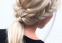 Awesome 33 trendy hairstyles for medium length hair you will love Braid Ideas For Medium Hair Ideas