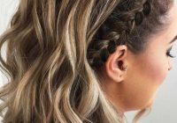 Awesome 35 cute braided hairstyles for short hair lovehairstyles Braid Hairstyles For Short Curly Hair Choices