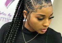 Awesome 37 stunning fulani braids hairstyles for african american Cute Braids For African American Hair