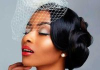 Awesome 43 black wedding hairstyles for black women in 2020 African American Wedding Hairstyles Half Up And Half Down