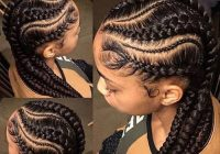 Awesome 44 goddess braids styles for black hair trendy hairstyles 2020 French Braids Styles Black Hair Ideas
