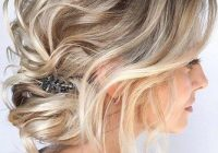 Awesome 48 perfect bridesmaid hairstyles ideas wedding forward Short Hairstyle For Maid Of Honor Choices
