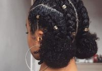 Awesome 50 protective hairstyles for natural hair for all your needs Braid Style For Natural Hair Inspirations