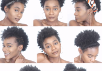 Awesome 8 easy protective hairstyles for short natural 4c hair that Simple Hairstyles For Short Afro Hair Choices